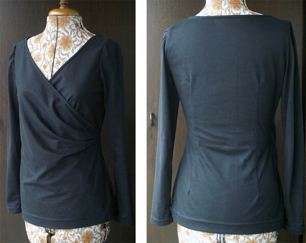 Burda 10/2012 No. 119 Shirt