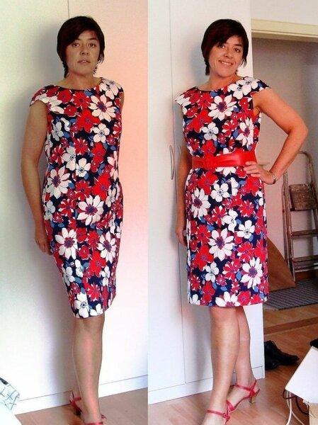 Kleid Burda 3/2009 Mod.107
