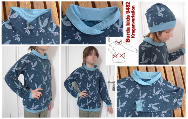 Sweatshirt, Burda kids 9482