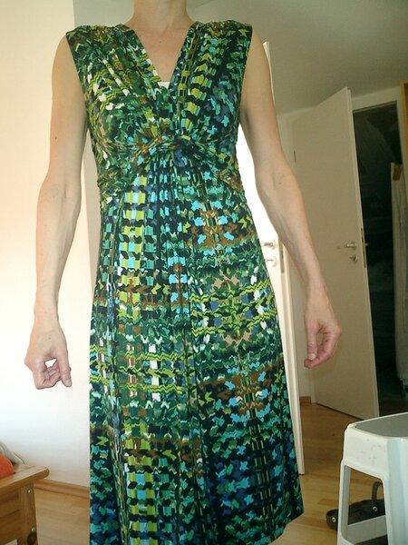 Jerseykleid nach Burda, verändert