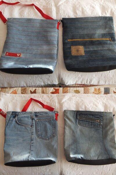 Chobe Bag aus alten Jeans