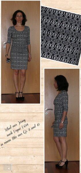 Jerseykleid V1314