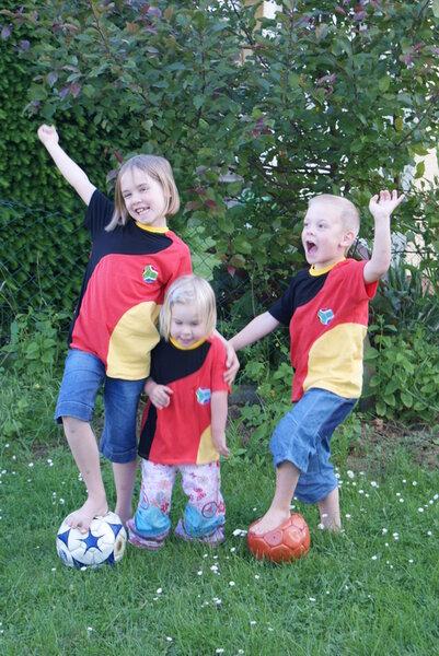 WM Shirts für die Kids