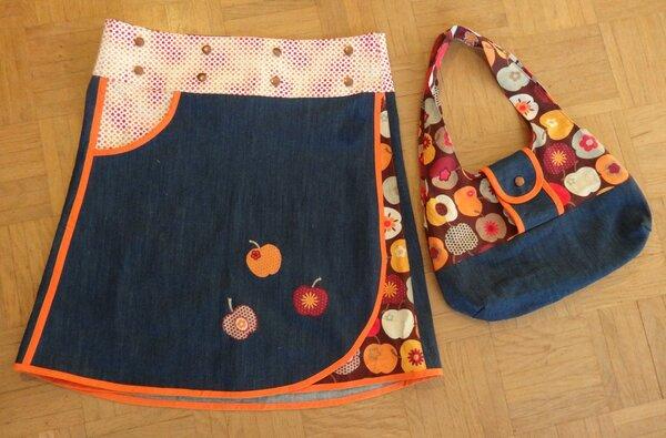 Wickelrock und Tasche