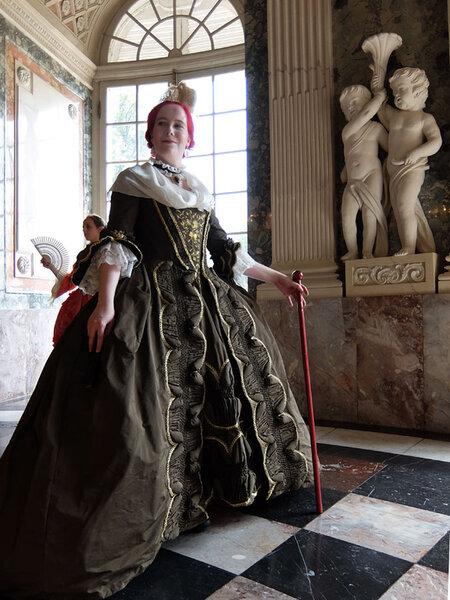 Robe à la Française um 1775