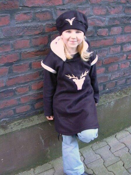 Amelie mit passender mütze