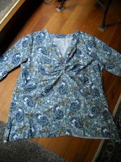 Knotenshirt aus der Knip 12 /2011