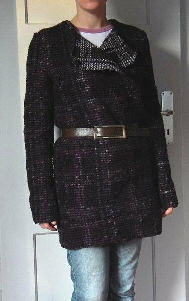 Mantel 101,  Burda 12/2010