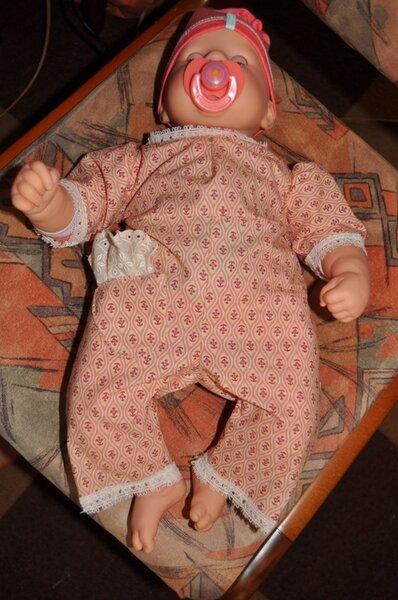 Overall für die Babypuppe Chou Chou