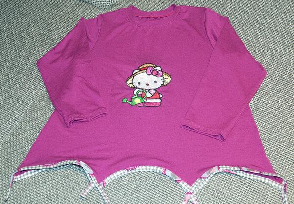 Hannel in pink mit Hello Kitty