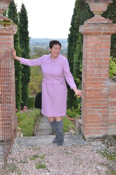 Sixties Kleid aus Burda 01/13 Modell 104