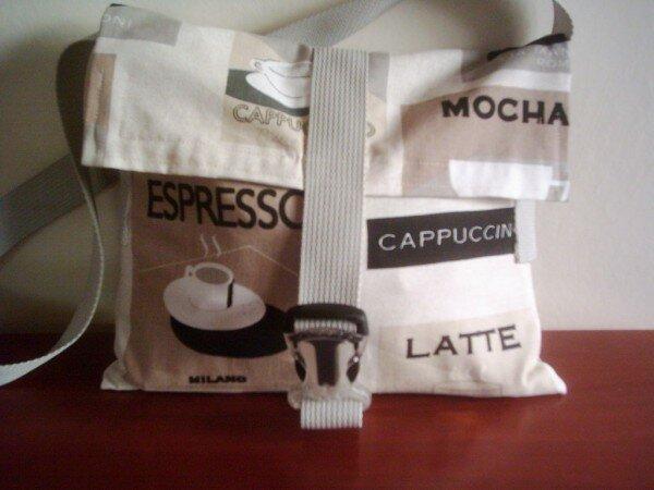 Cappuccino-Tasche