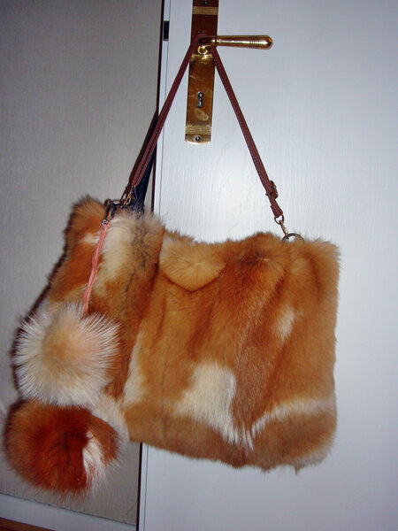 Meine Tasche... ich kann ja nicht nur für Schwiegermama nähen :)