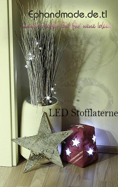 LED Stofflaterne