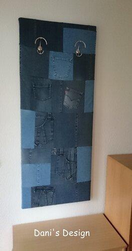 Garderobe aus alten Jeans