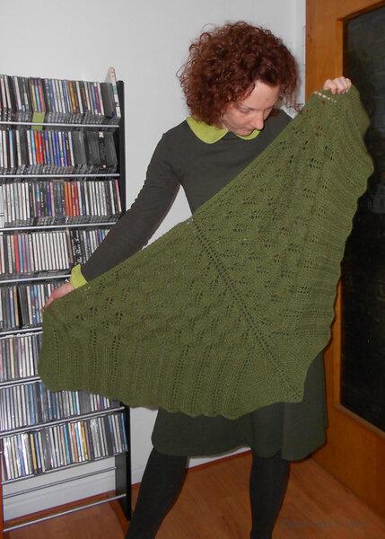 Grüne Welle: Ein Tuch
