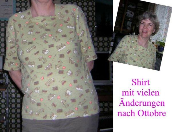 Shirt nach Ottobre, mit vielen Änderungen