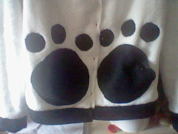 Pandajacke Taschen