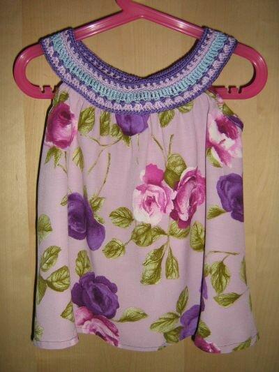 Häcktop-Kleid