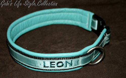 ein weiteres Halsband für Leon