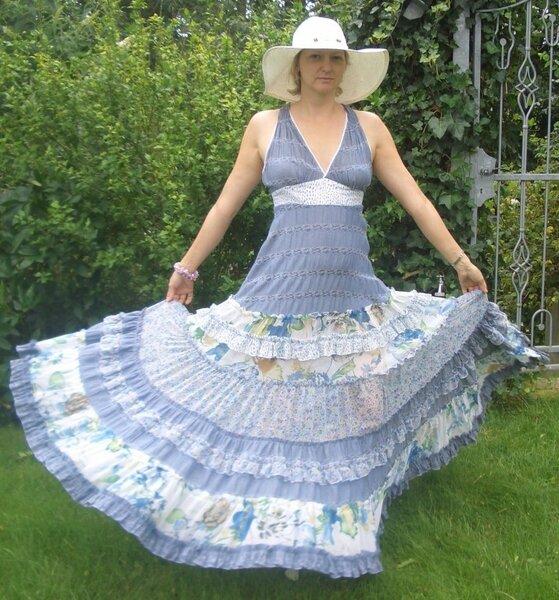 Hippiekleid aus der Easy Fashion