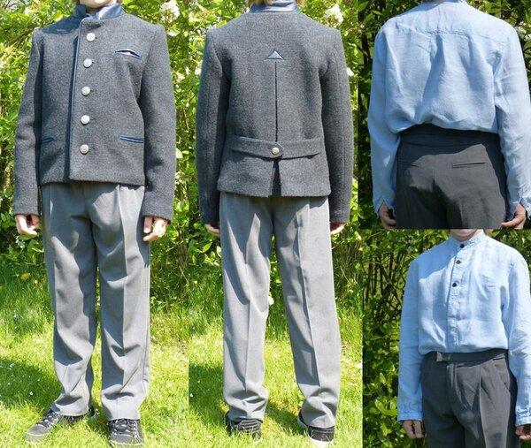 Hose Burda 2-2013, Mod. 146 Größe 152