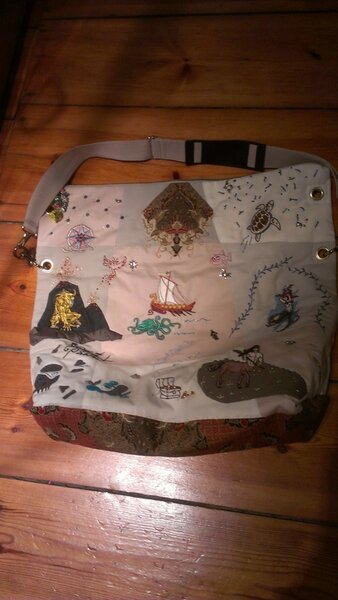 Schatzkartentasche