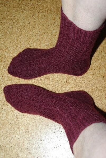 Socken November/Dezember 2011