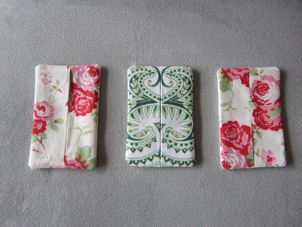 Taschentüchertaschen aus Resten