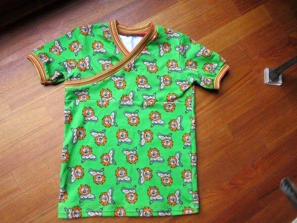 Shirt nach dem Trotzkopf-Schnitt von Schnabelina
