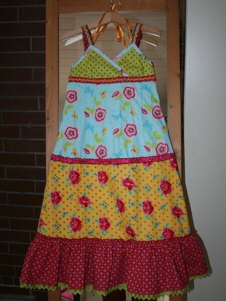 Einschulungskleid nach Knippie Frühling/Sommer 2010 Modell 9a