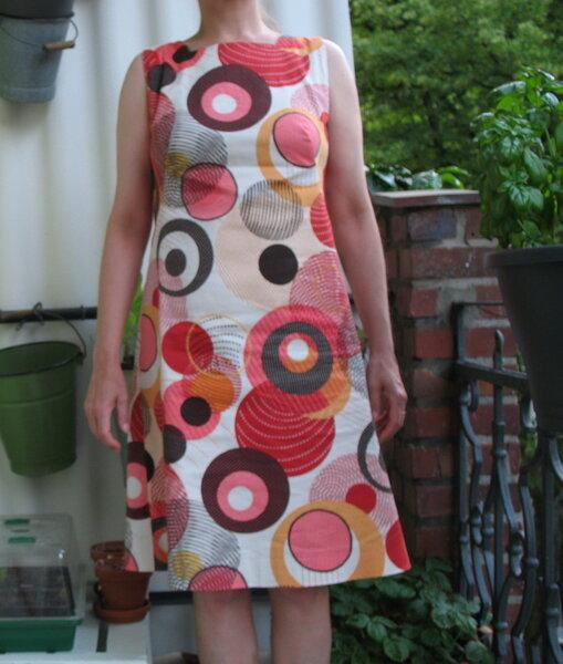 Vintage Schnitt, neues Kleid