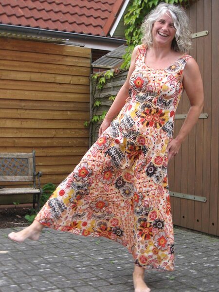 Kleid aus Burda 6/2003
