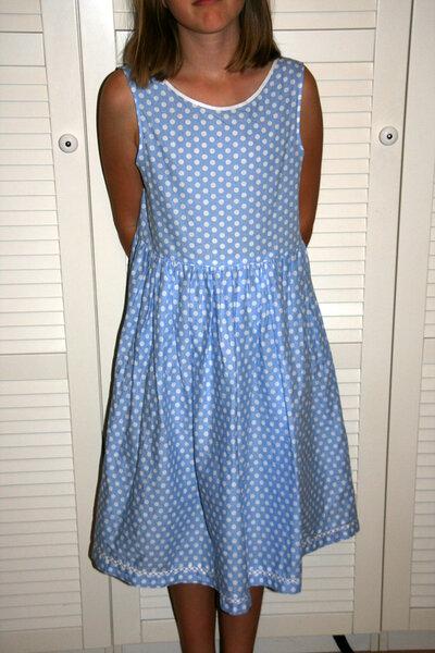 Schnelles Kleid Gr. 164