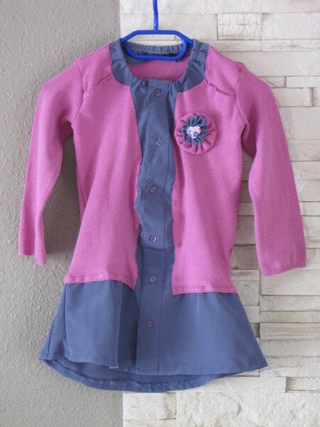 Kleid Tunika recycelt