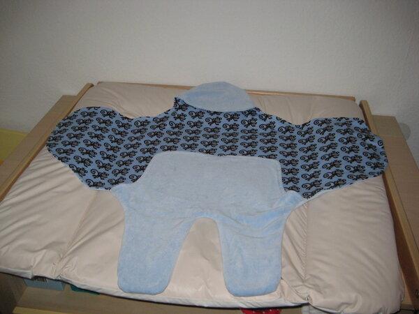 Einschlagdecke für die Babyschale