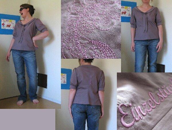 Bluse Jasmine von Colette Patterns