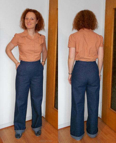 Jeans im Vintagelook