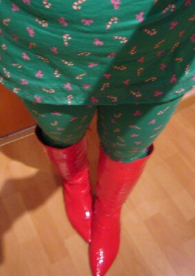 * Mein Christmas-Outfit 2011 *