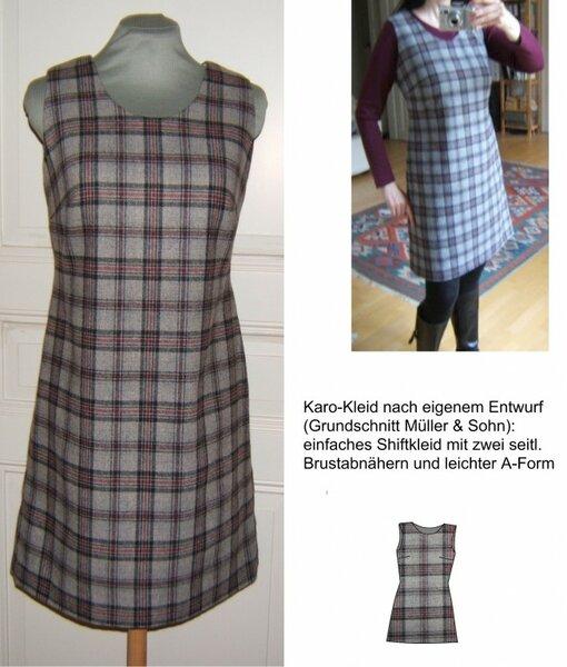 Karo-Kleid