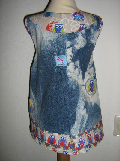 Kleid nach Farbenmix-Rückseite