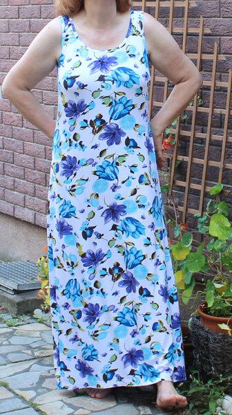 Sommerkleid Knipmoden Juli 2014 Modell 5