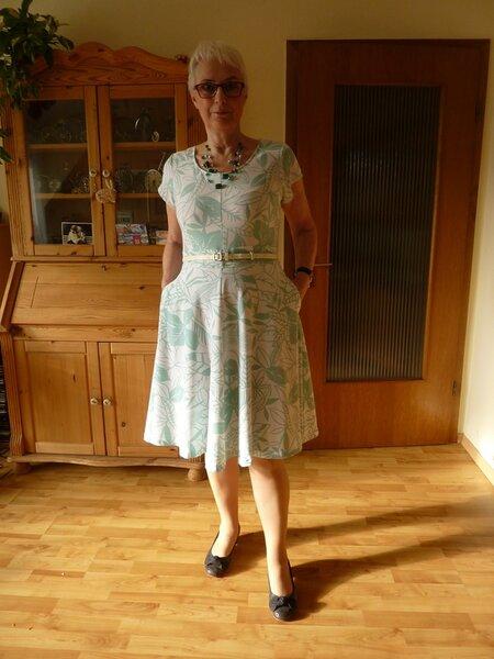 Sommerkleid  aus Knip 2015/Heft 7