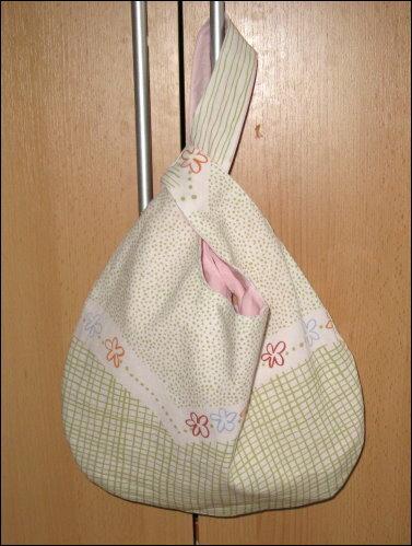 Meine 1.Knotentasche