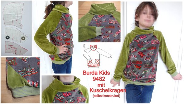 Burda Kids 9482 Nickishirt