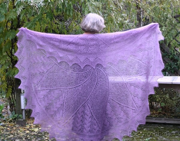 "'The Cap Shawl' aus ""Victorian Lace Today"""