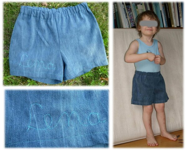 Wiederfinde-Shorts, Upcycling