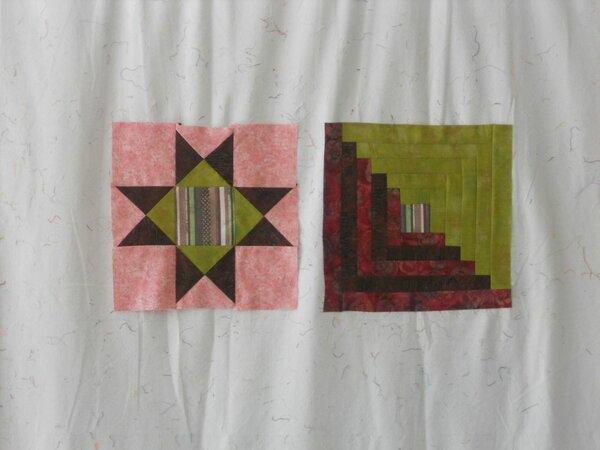 Blocks aus dem Patchworkkurs