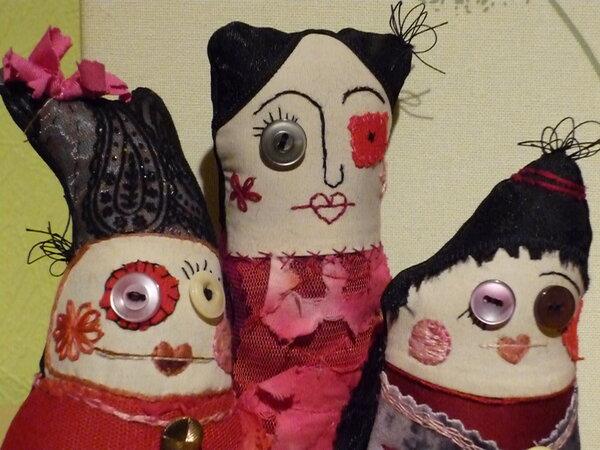 Damenkränzchen in Rot 2
