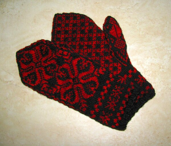 Fair Isle Handschuhe